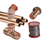 15mm and 22mm End Feed Copper Tube and Fittings