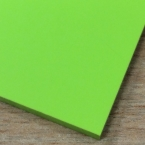 2.5mm PVC Sheet & Trims in Lime Green