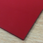 2.5mm PVC Sheets & Trims in Red