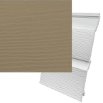 333mm Fortex Cladding Argyle Brown