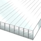 35mm Polycarbonate Sheet Opal White 7-Wall