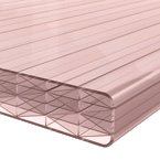 25mm Polycarbonate Sheet Bronze 9-Wall