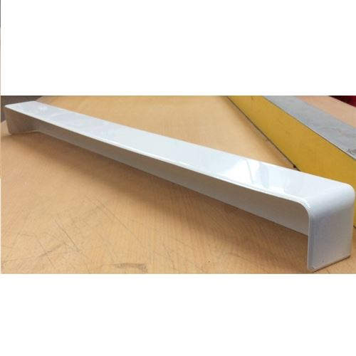 External Fascia Corner White 600mm Tall 90 Degree Angle