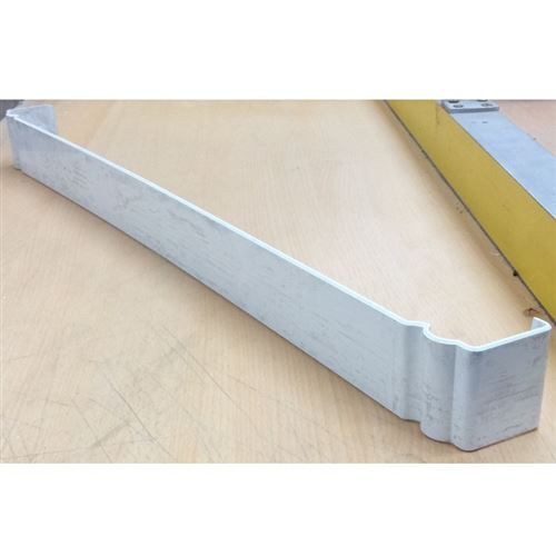 600mm Ogee Fascia Centre Joint White