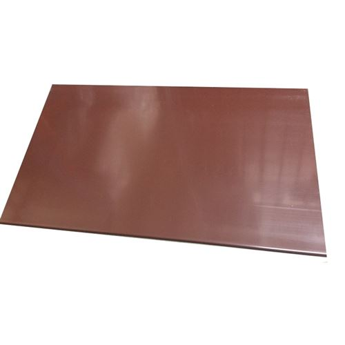 Brown Plastic Soffit Board 2 5m X 150mm X 10mm