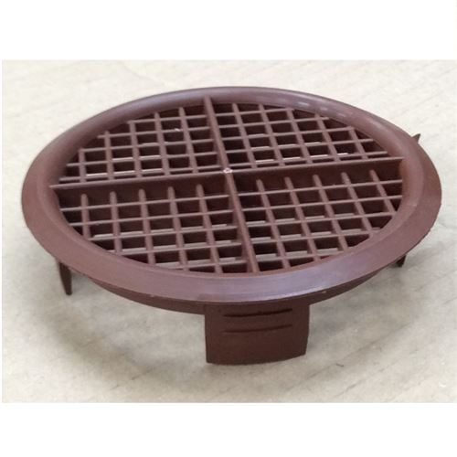 Soffit Vent Disc 70mm Brown
