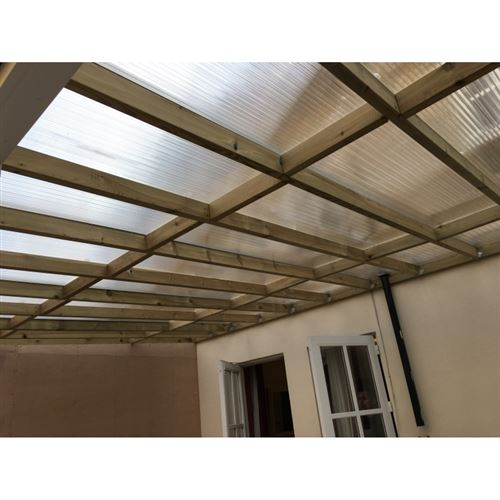 4m X 1047mm 35mm Polycarbonate Sheet Clear