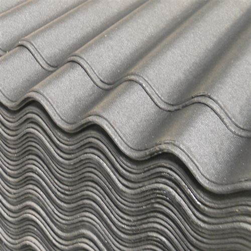 Black Onduline Roof Sheet 2m Bitumen Corrugated