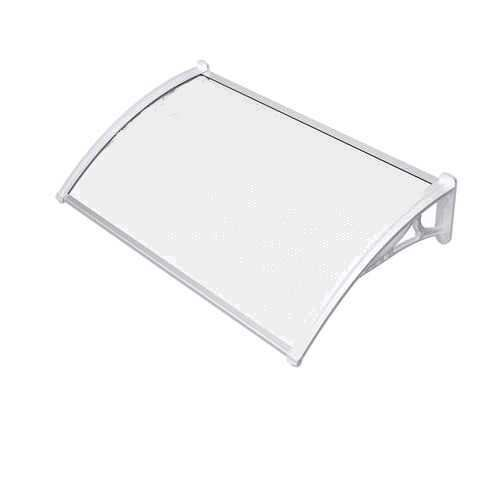 700mm x 1200mm Canopy Off-White Brackets Opal Multiwall Sheet