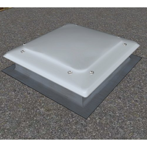 Roof Dome ILLUMI-THERM Convex 900x900mm Opal polycarbonate multiwall
