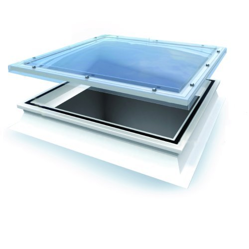 1050 x 1050mm Linear Opening Dome Triple Glaze Clear