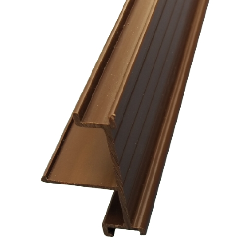 3.5M x 40mm End Bar Infill Brown