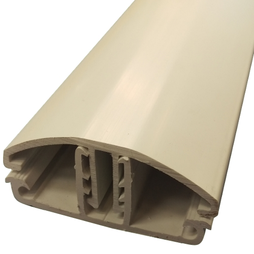 2M Glen Timber Support Glazing Bar for 6 / 10mm WHITE