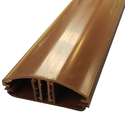3.5M Glen Timber Support Glazing Bar for 6 / 10mm BROWN