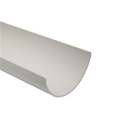 2M Round Gutter 112mm White