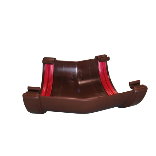Round Gutter Angle 150° Brown