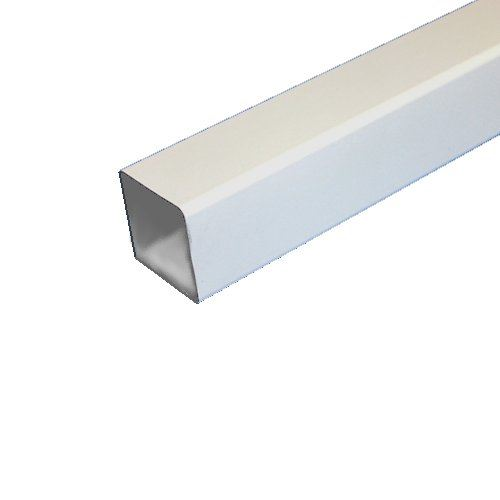 5.5M Square Downpipe White