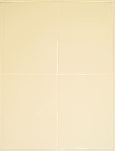 Large Tile Effect Wall Panel, Sand 2495 x 905