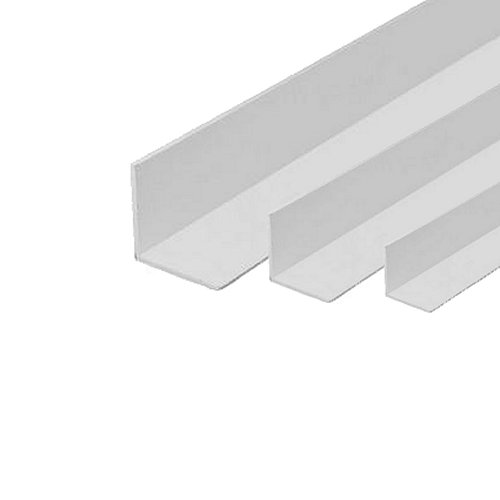 5m X 50 X 50mm Rigid Angle White