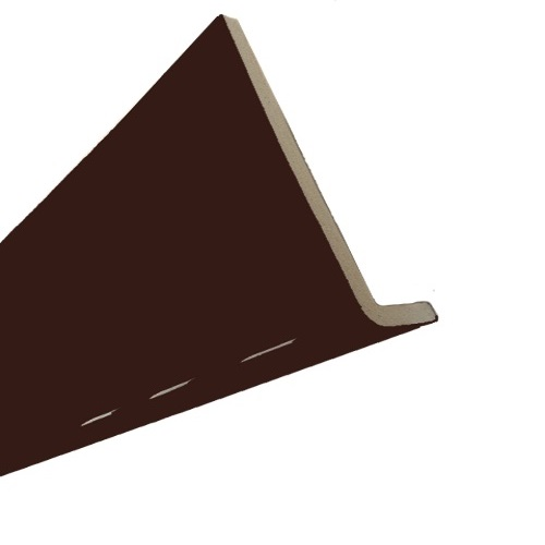 2.5M x 225mm x 10mm Cappit Fascia Board Solid Brown