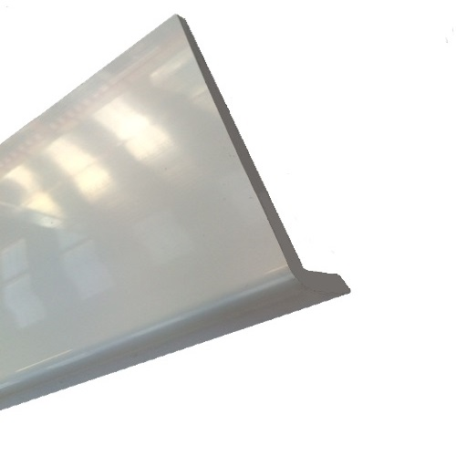 2.5M x 300mm x 10mm Capping Fascia Board WHITE PVC