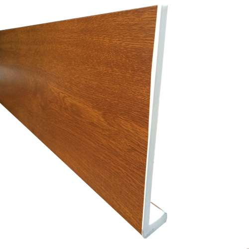 5M x 200mm x 10mm Cappit Fascia Board Golden Oak