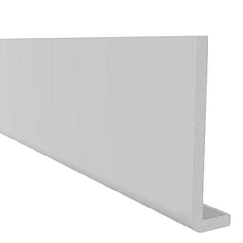 5M x 600mm x 10mm Capping Fascia Board WHITE PVC