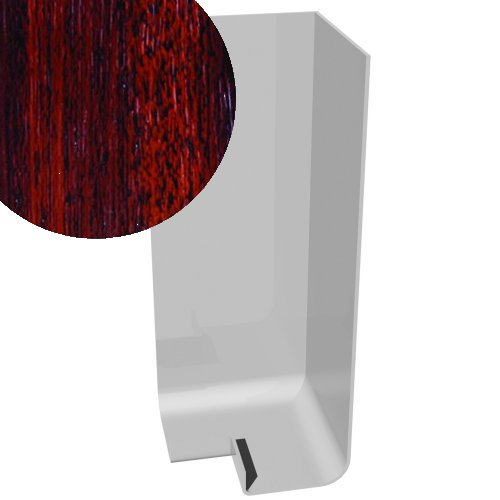 300mm x 90° External Corner Cover Rosewood