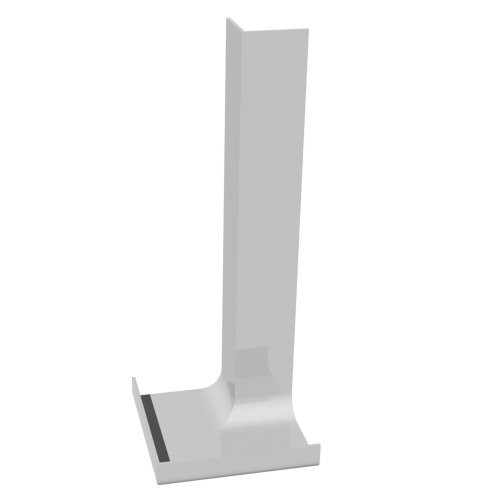 300mm x 90° Internal Corner Cover White