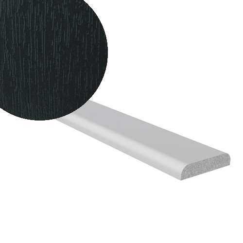 5M x 28mm D Mould Black Ash