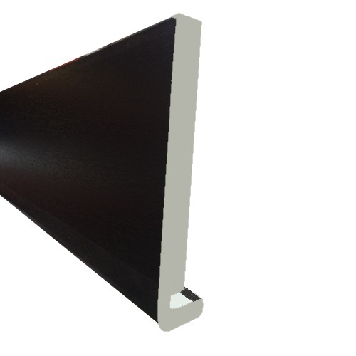 5M x 200mm x 18mm Replacement Fascia Black Ash