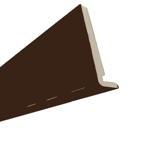 5M x 225mm x 18mm Replacement Fascia Solid Brown