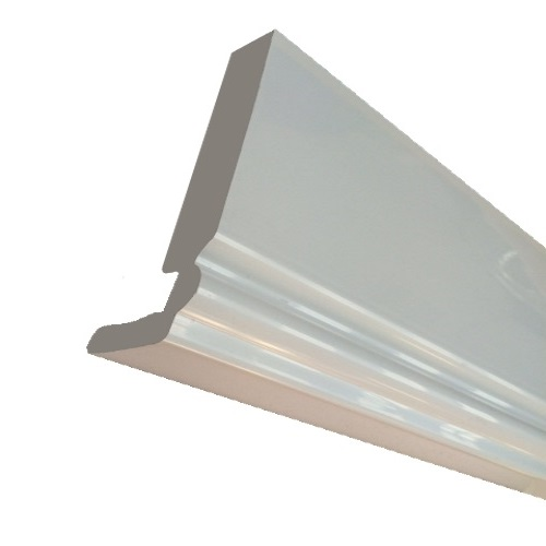 5M 250mm x 18mm Ogee Fascia Board White