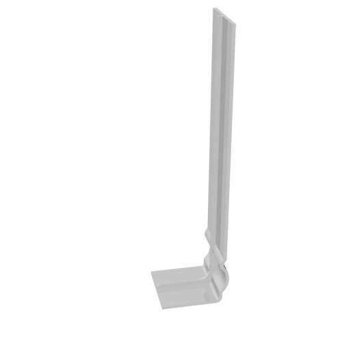 600mm Ogee Centre Joint White