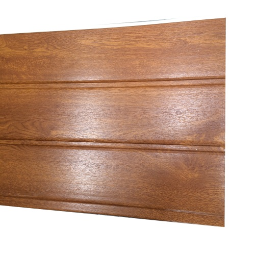 2.5M x 300mm 10mm Hollow Board Golden Oak
