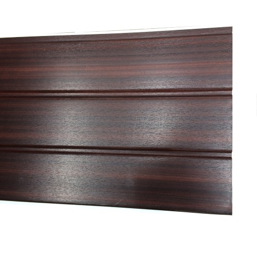 5M x 300mm 10mm Hollow Board Mahogany