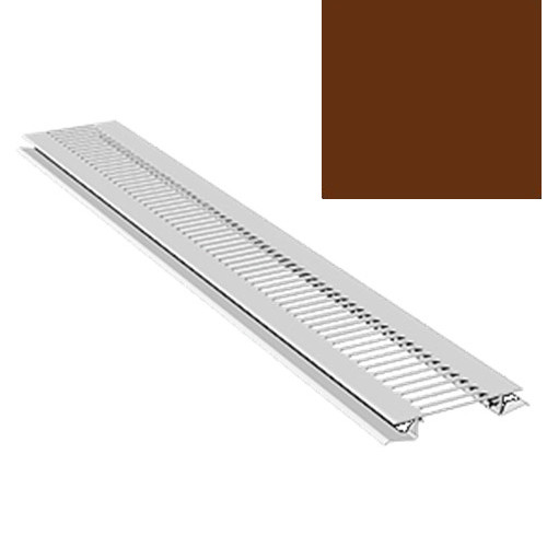 2.5M Soffit Vent Strip Trim 10mm Boards Brown