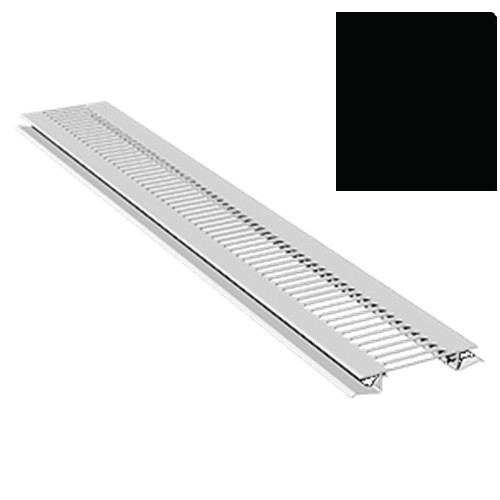 5M Soffit Vent Strip Trim 10mm Boards Black