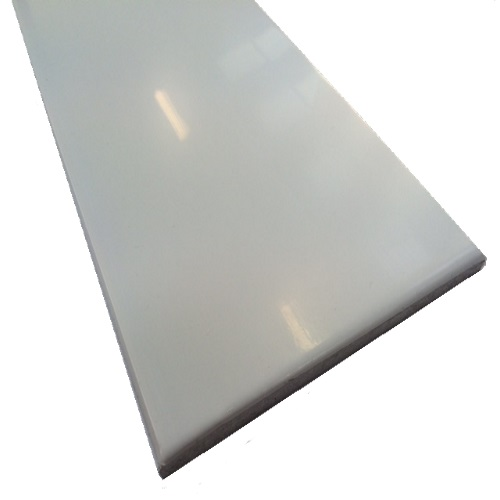 2.5M x 300mm x 10mm Multipurpose Board White