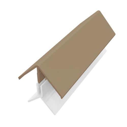 3M 2 Part Fortex Cladding Corner Trim Argyle Brown