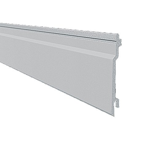 5M x 100mm Solid V Groove Cladding White