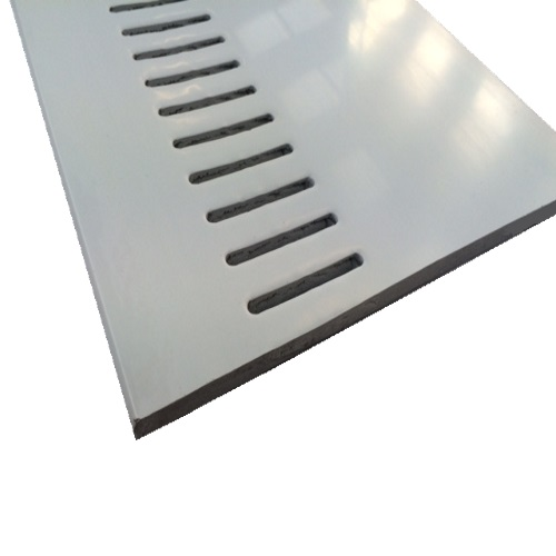 2.5M x 405mm x 10mm Vented Soffit Board White