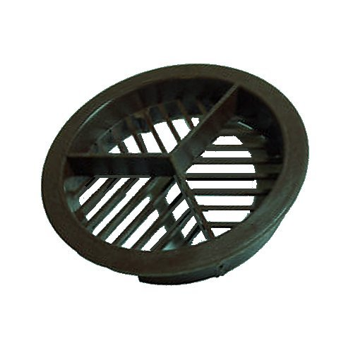 Soffit Vent Disc 70mm Black