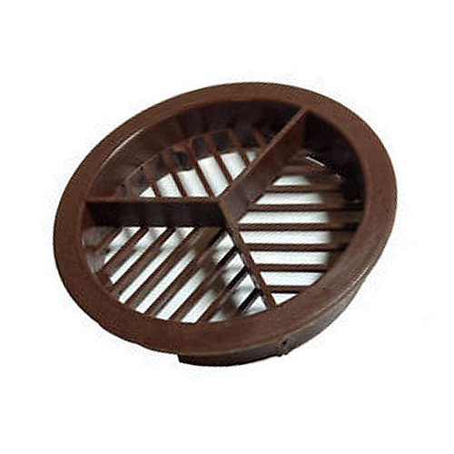 Vent Disc Dark Brown