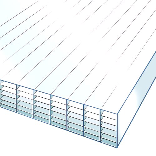 2M x 2100mm 35mm Polycarbonate Sheet CLEAR