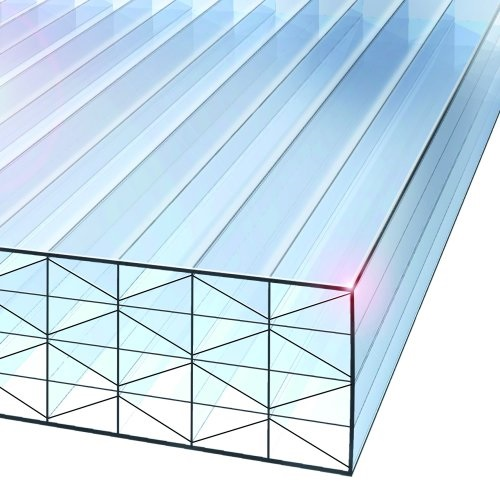 1.5M x 1200mm Nine-X 40mm Polycarbonate Sheet CLEAR
