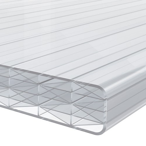 3.5M x 695mm Finest 25mm Polycarbonate Sheet Opal /White