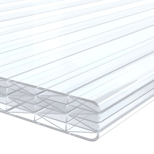 1.0M x 695mm 16mm Finest Polycarbonate Sheet Clear