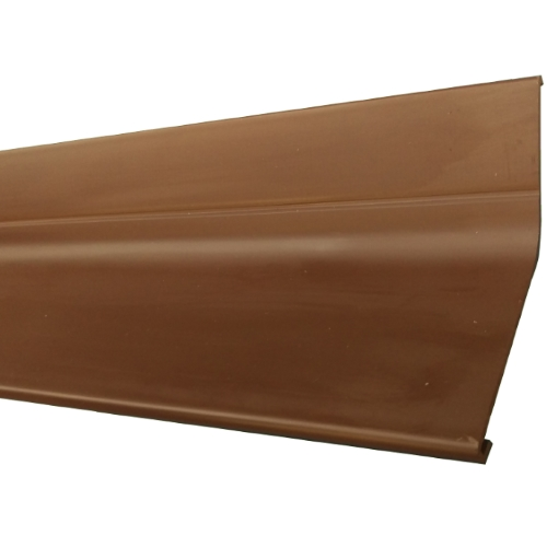 2M PVC Wall Flashing Brown