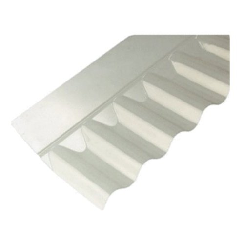 "3""Iron  Profile PVC Wall Flashing 660mm Cover Clear"